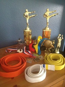 I'm beginning to think that ribbons, trophies and awards aren't such a bad idea