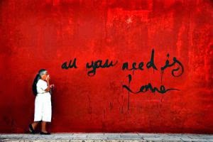 All you need is love… sort of